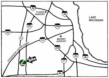 Major Expressway Map