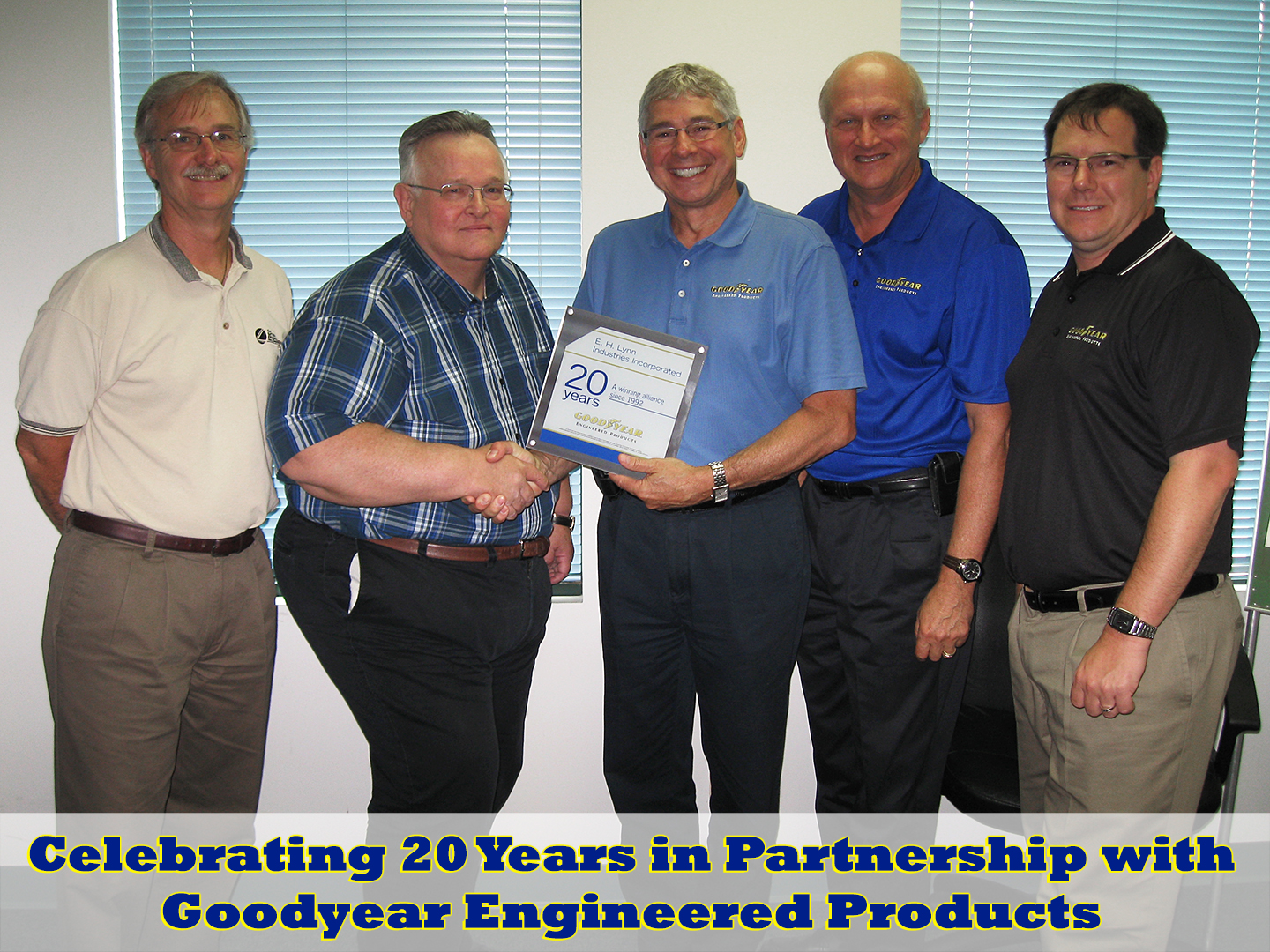 20 Years with Goodyear