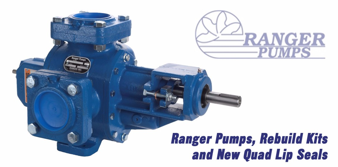 Ranger Pumps, Rebuild Kits, Quad Lip Seals